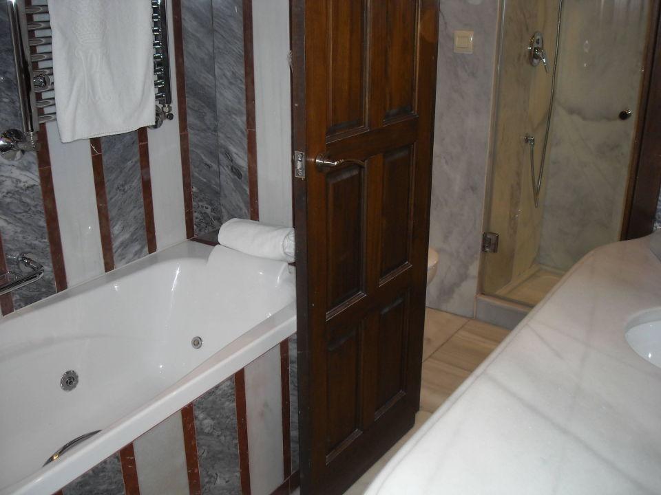 Bad mit getrenntem WC Hotel Las Casas de la Juderia
