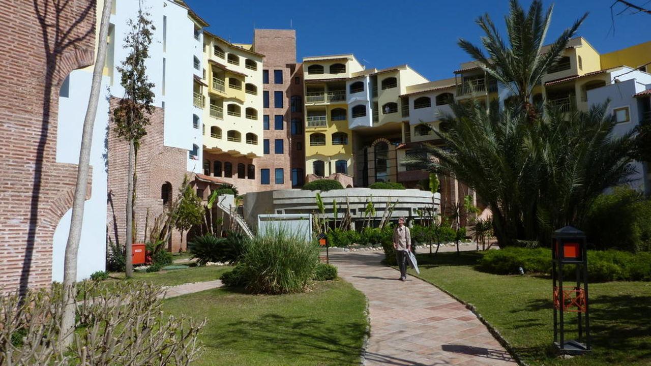 Blick auf das Hotel Limak Arcadia Sport Resort