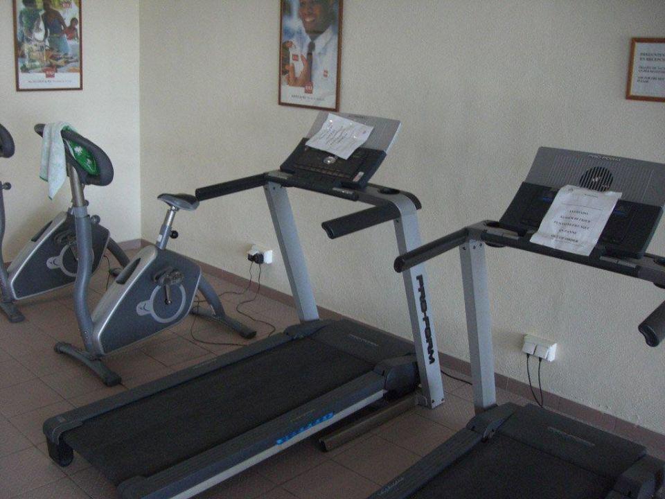 Nichts (!) funktioniert im Fitnessraum Hotel Riu Belplaya (Vorgänger-Hotel – existiert nicht mehr)