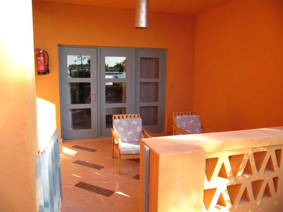Terrasse Steigenberger Golf Resort El Gouna