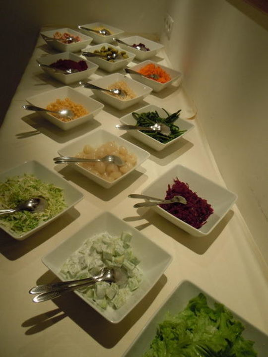 Salatbuffet Charmehotel Friedrich