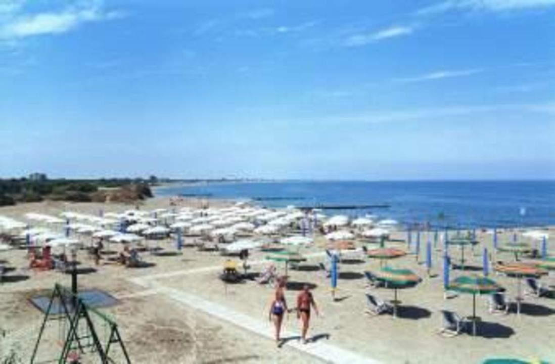Strand im Bungalow Park Camping Spina Spina Camping Village