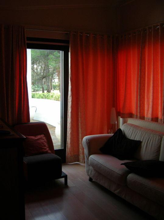 Wohnzimmer Mit Terrassentür Hotel Eco Lodge Suites Alborea