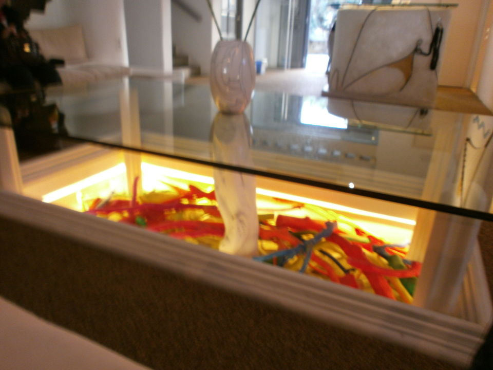 Sitzecke in der Lobby Hotel Ilio Maris