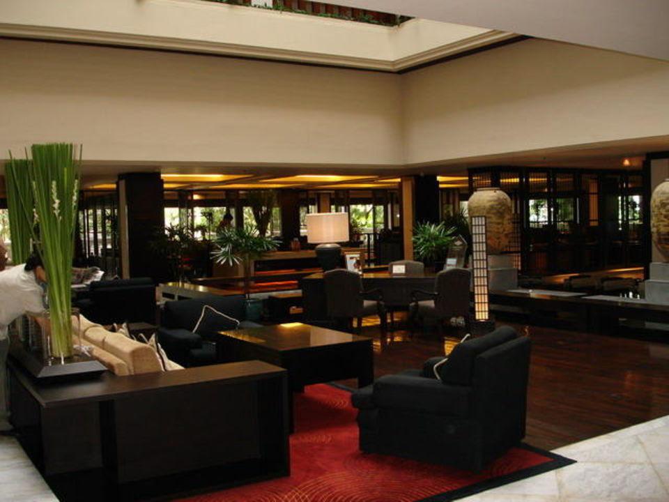 Lobbybereich Anantara Riverside Bangkok Resort