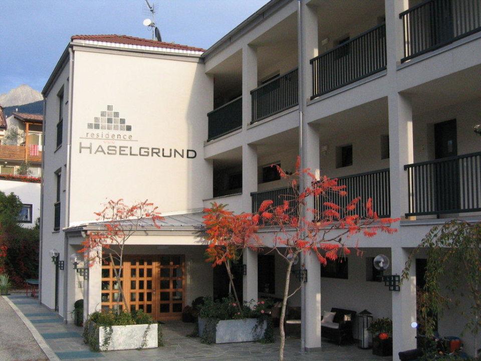 Die Vorderansicht des Hauses Hotel Residence Haselgrund