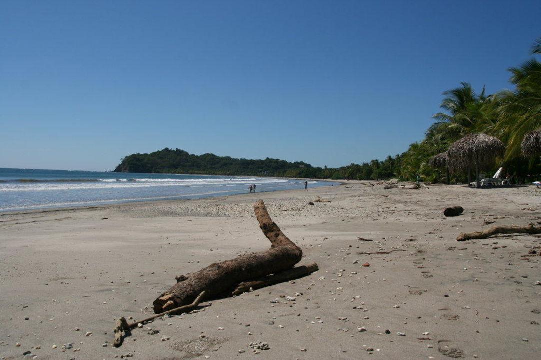 Blick Richtung Samara Hotel Las Brisas del Pacifico