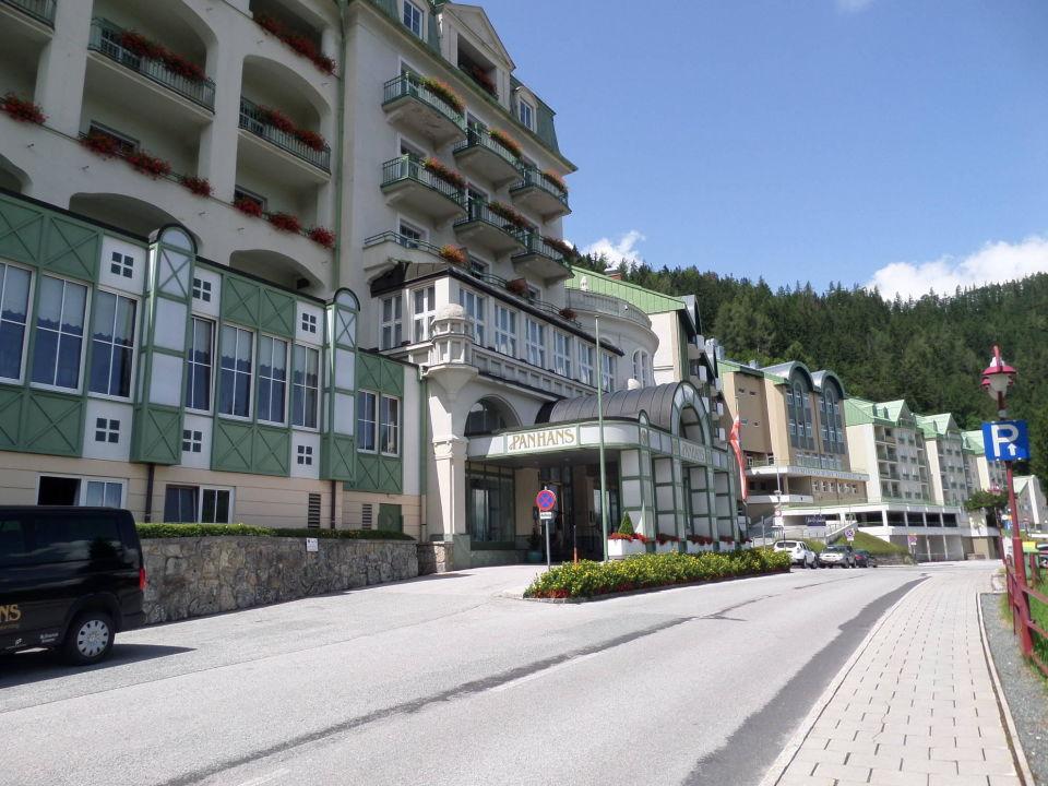 Der Eingangsbereich Hotel Panhans