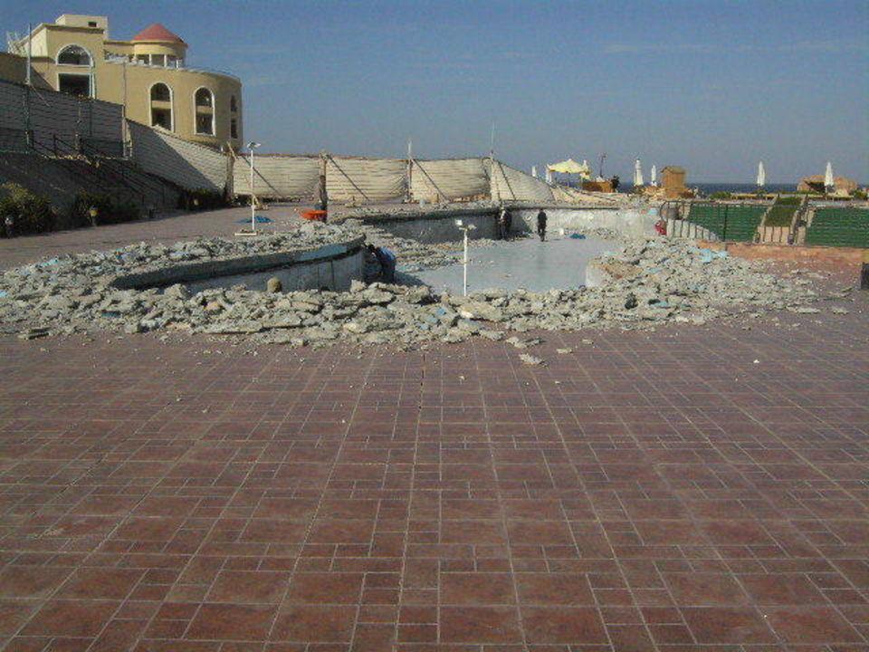 Baustelle Pool Red Sea Taj Mahal Resort & Aqua Park