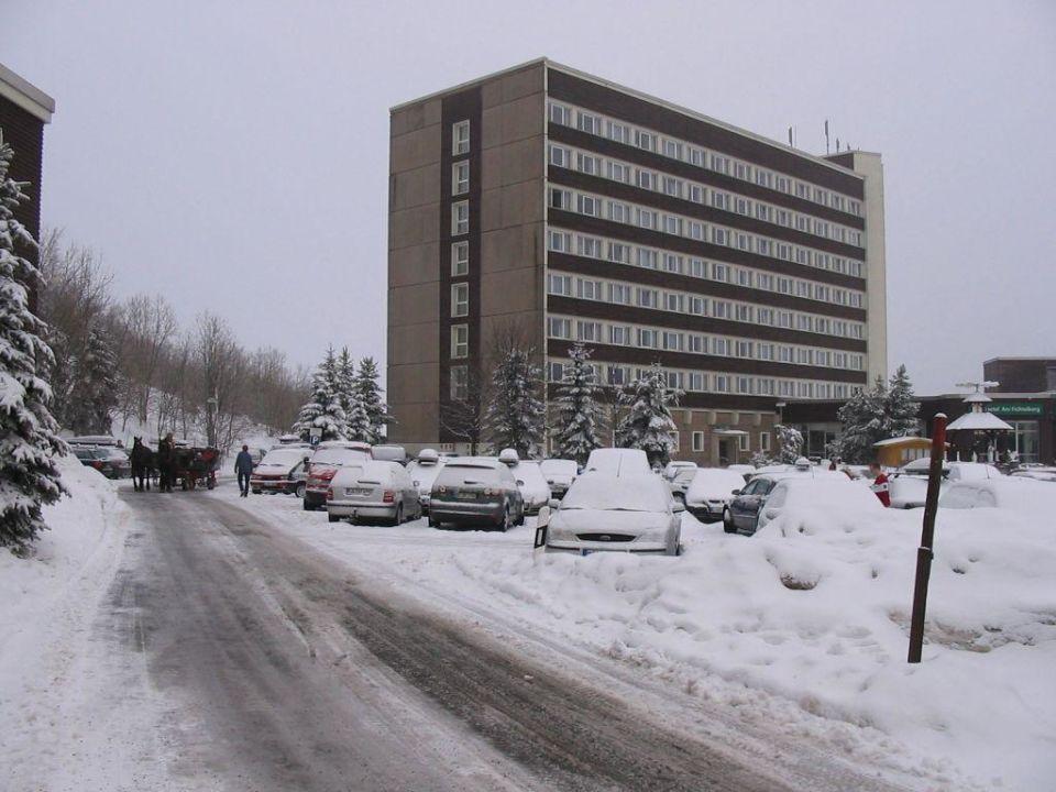 Aussenansicht Ahorn Hotel Am Fichtelberg Oberwiesenthal