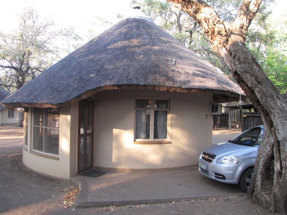 Unser Zimmer für 2 Tage Letaba Rest Camp