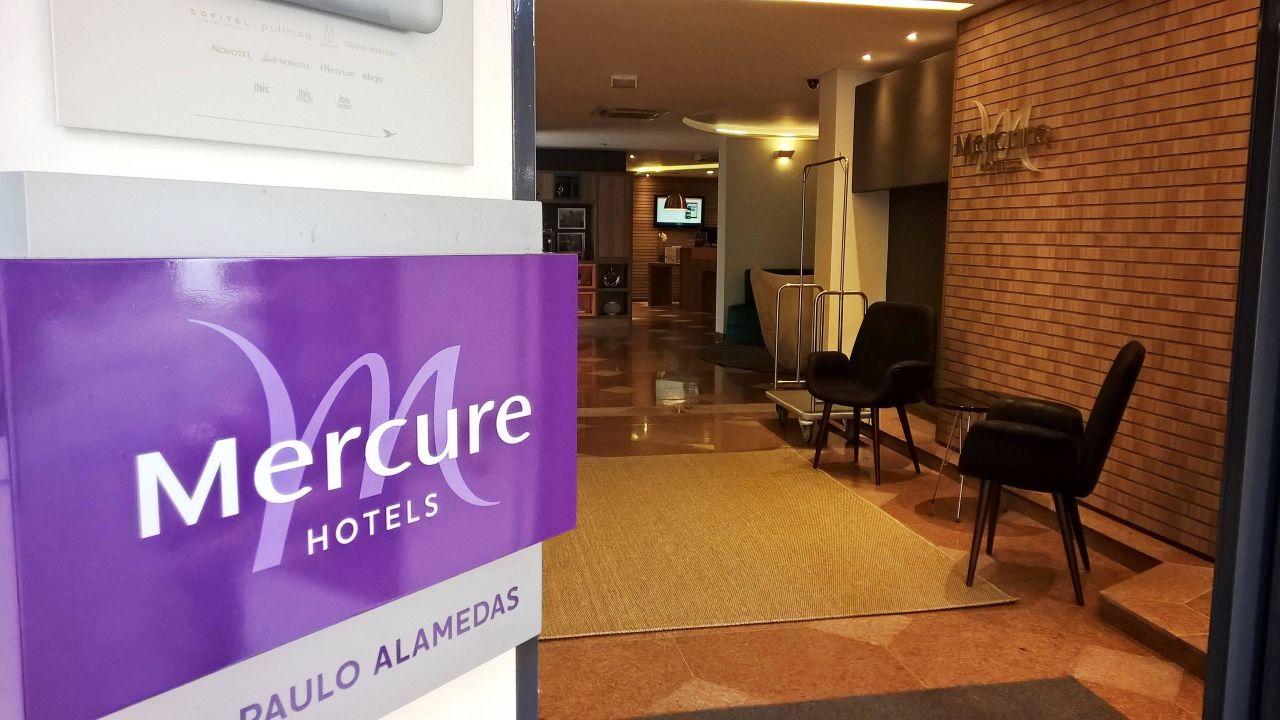 Entrance Mercure Hotel Sao Paulo Alamedas