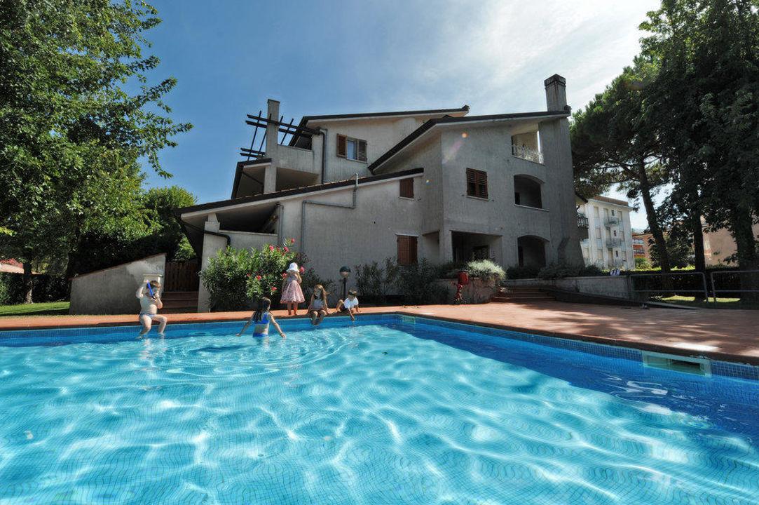Residence Diapason - Piscina  Villaggio dell'Orologio