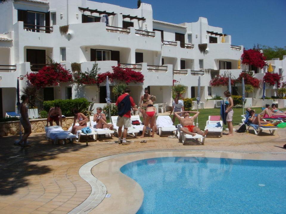 Na basenie Hotel Balaia Golf Village
