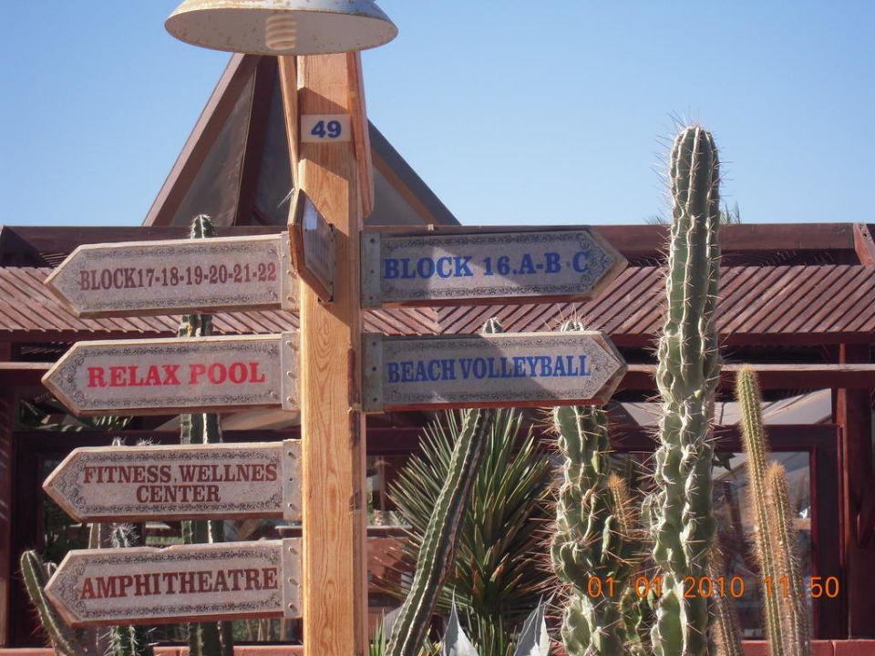 Wegweiser Garten Tui Magic Life Sharm El Sheikh Nabq Bay
