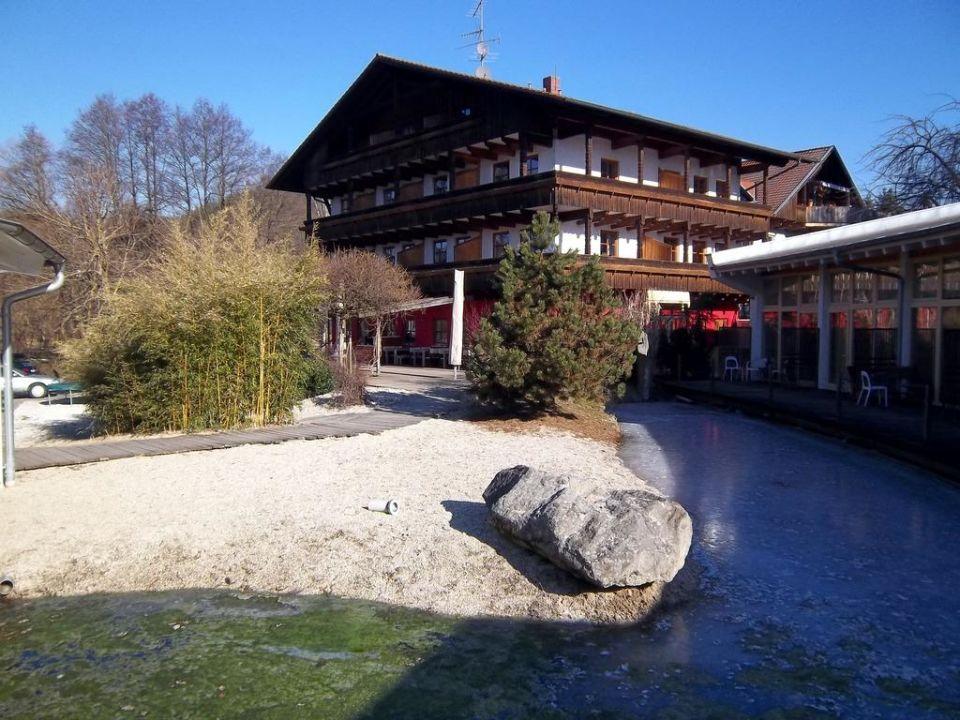 Außenansicht Hotel Schnitzmühle\