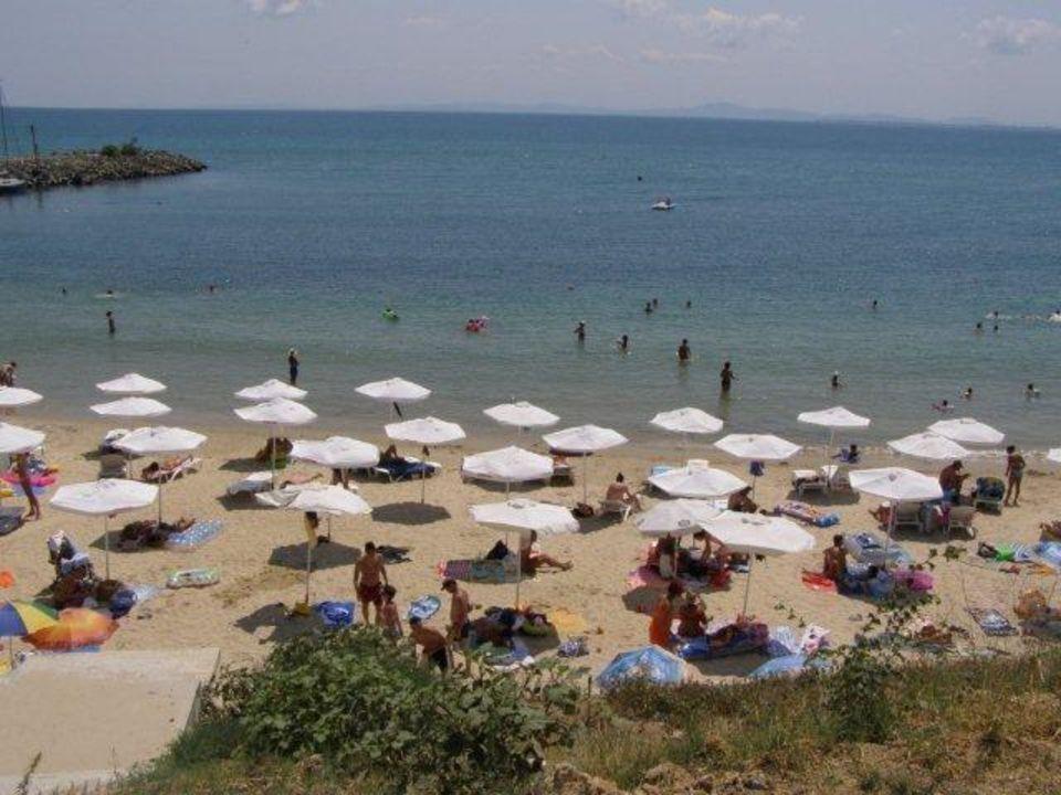 Plaża Pension Pinkovi