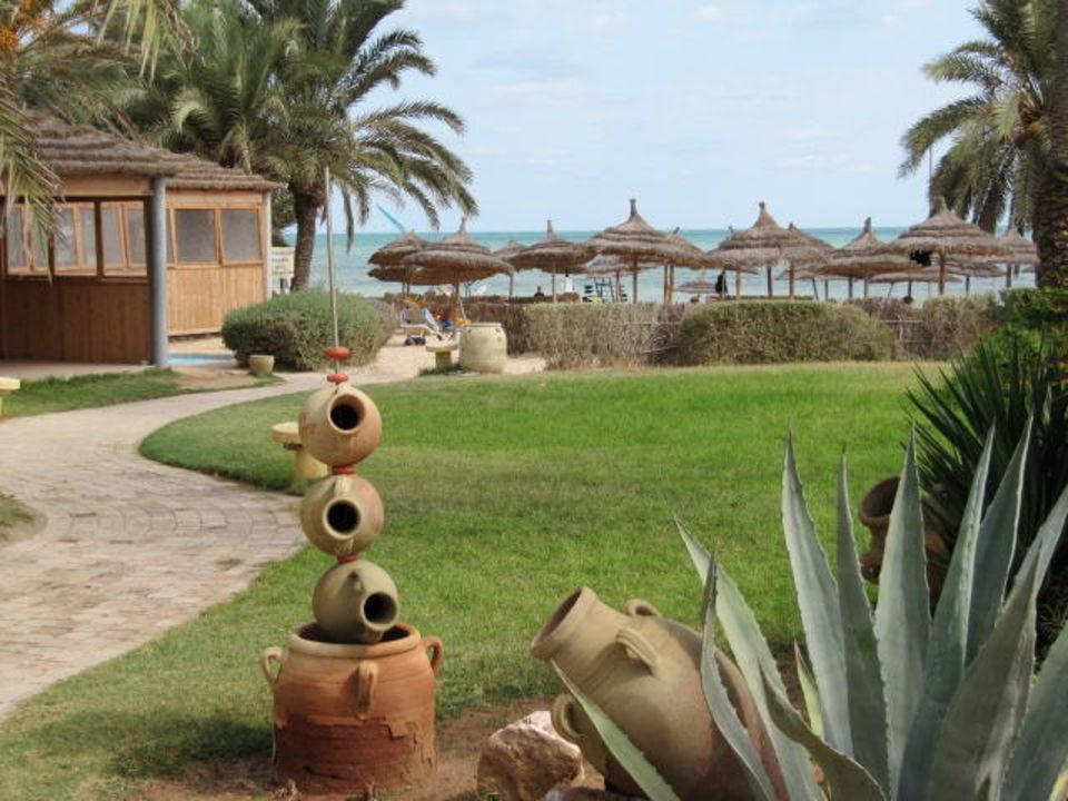 Der Weg zum Strand Hotel Eden Star