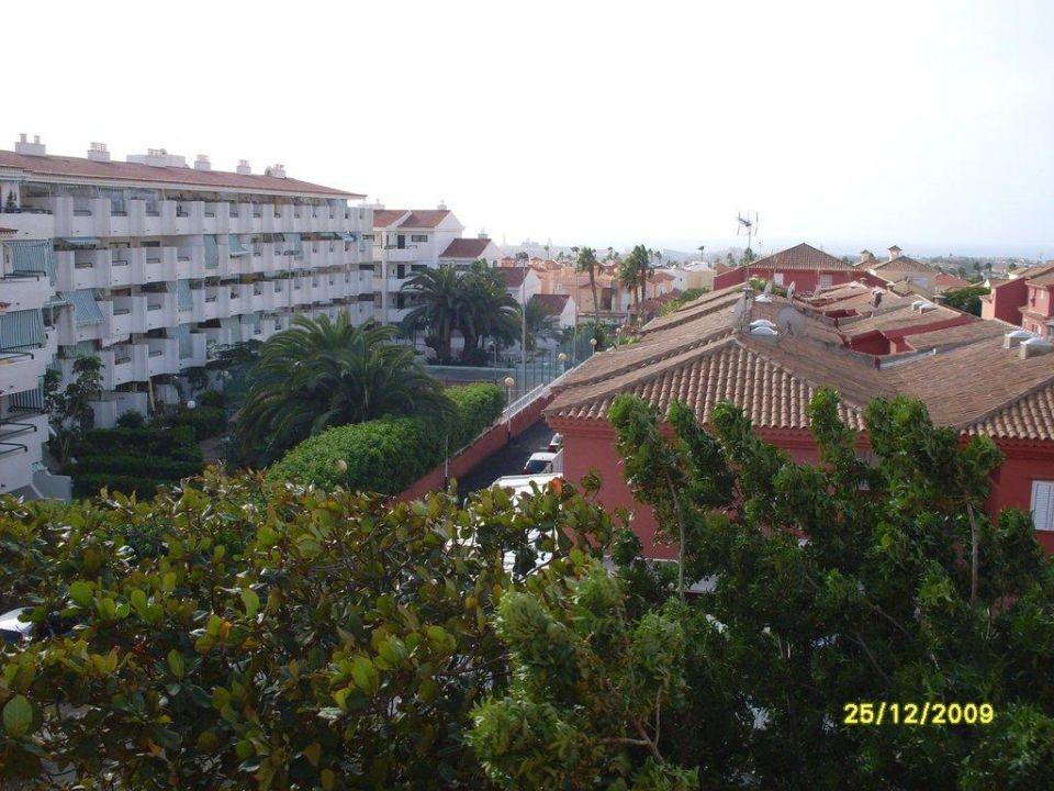 Ausblick vom Balkon Hotel Mirador Maspalomas Dunas