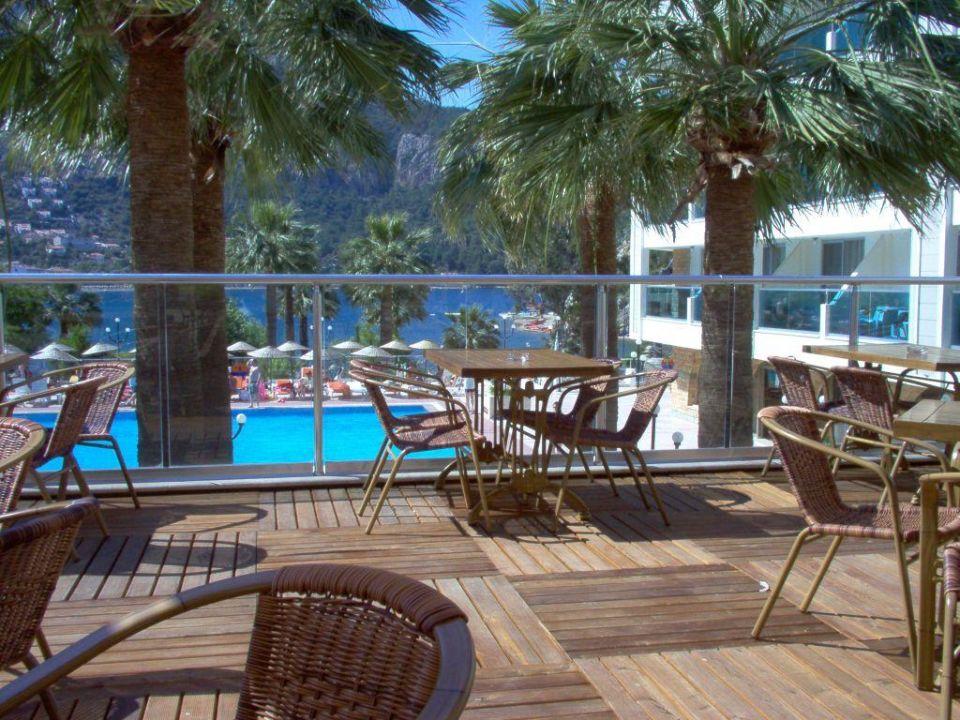 Dachterrasse Turunc Resort Hotel