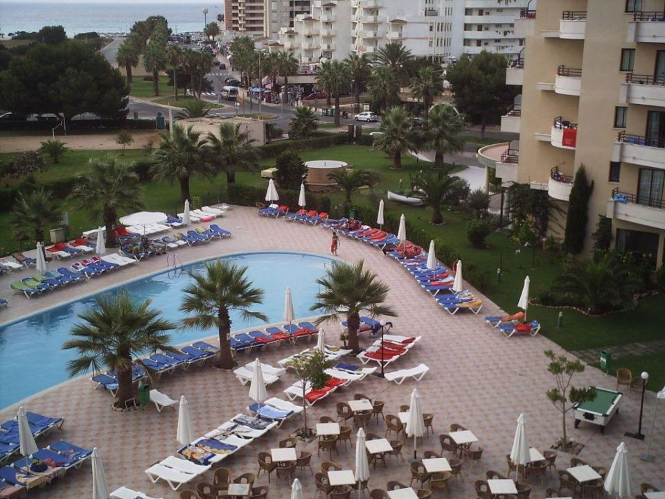 Zimmer 2408 Mit Meerblick Allsun Hotel Orient Beach Sa Coma