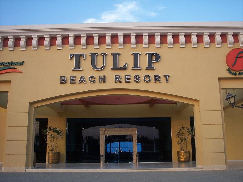 Hotel Eingang Tulip Resort (Vorgänger-Hotel – existiert nicht mehr)