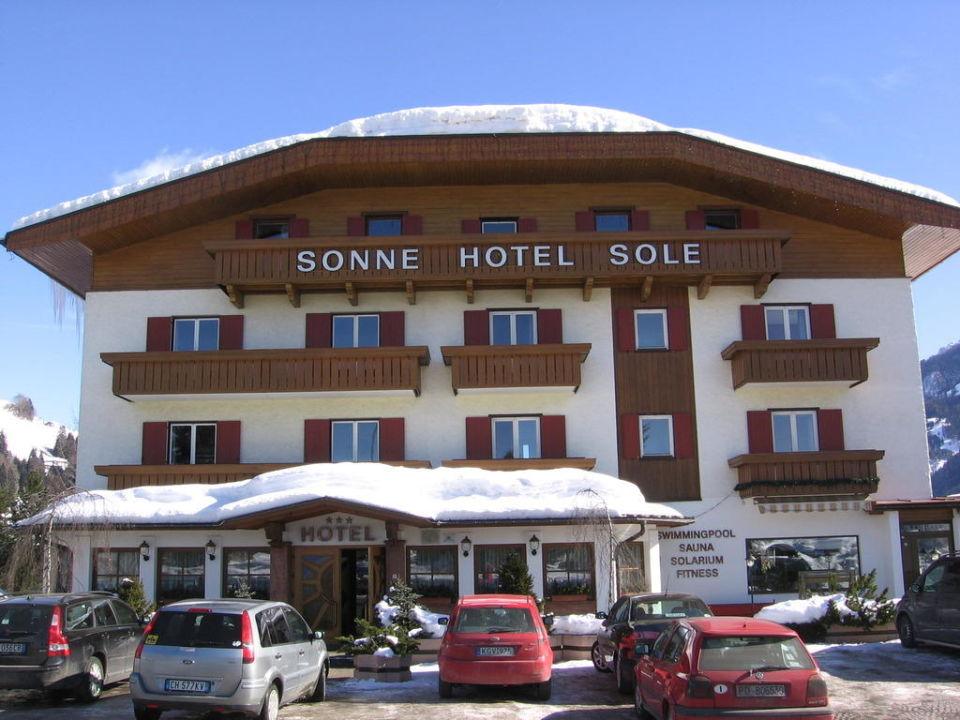 Eingang zum Hotel Hotel Sonne