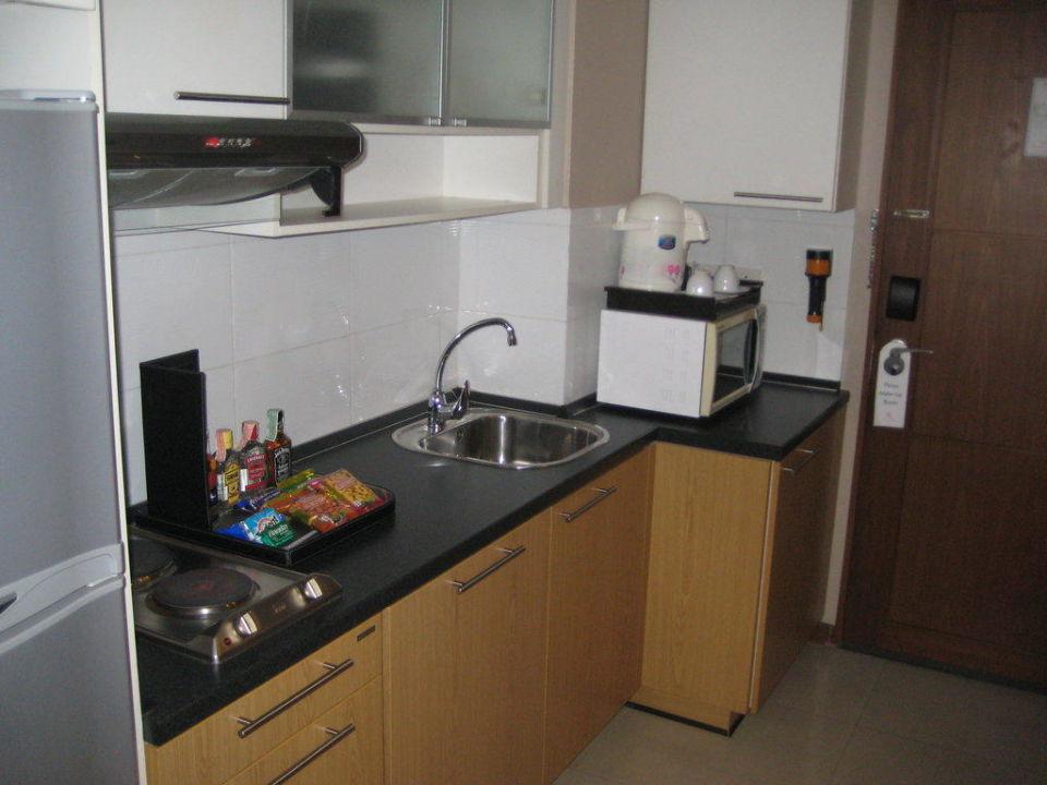 Küchenzeile im Zimmer Hotel FuramaXclusive Sathorn