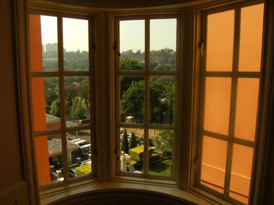 Vista dal corridoio Four Seasons Hotel The Westcliff Johannesburg