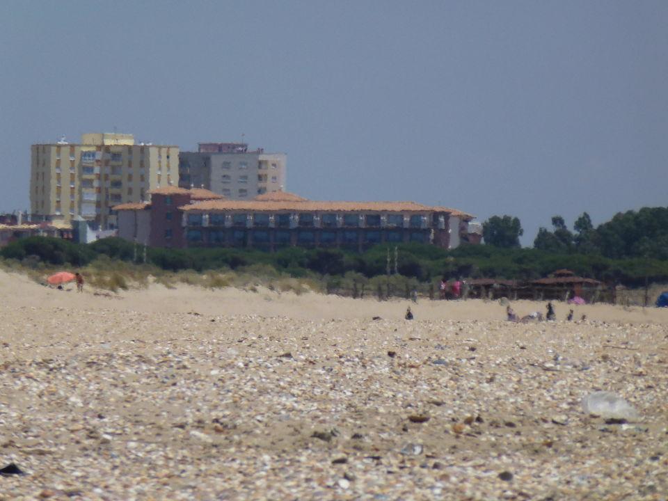 Hotel mit Anwohnerhochhäuser Sensimar Isla Cristina Palace & Spa