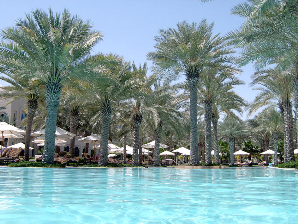 Pool im The Palace Hotel One&Only Royal Mirage - The Palace