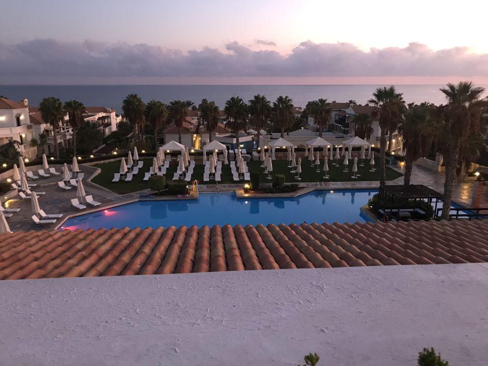Ausblick Aldemar Royal Mare Thalasso Resort