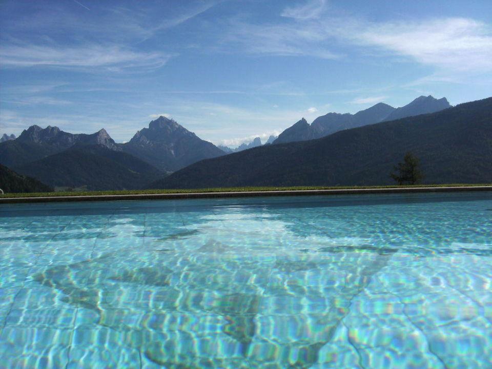 Außenpool Hotel Alpen Tesitin
