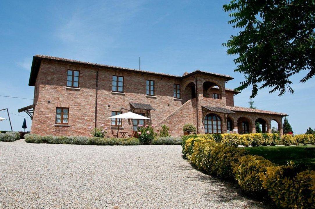 Außenansicht Hotel Agriturismo Sanguineto