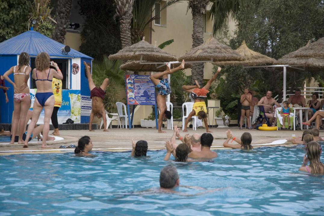 Wygłupy animatorów Hotel Hammamet Azur Plaza