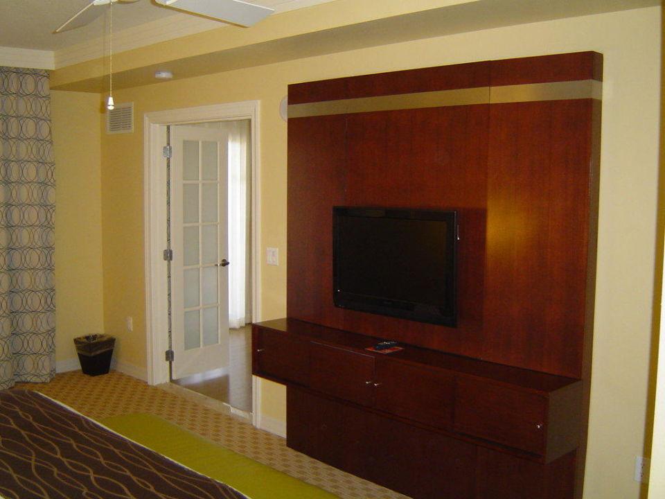 Zimmer / Schlafraum gegenüber Bett Hotel Parc Soleil by Hilton Grand Vacations Club