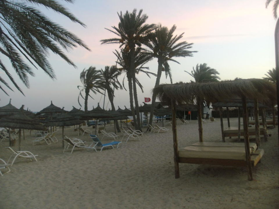 Himmelbett am Strand Hotel Seabel Aladin Djerba