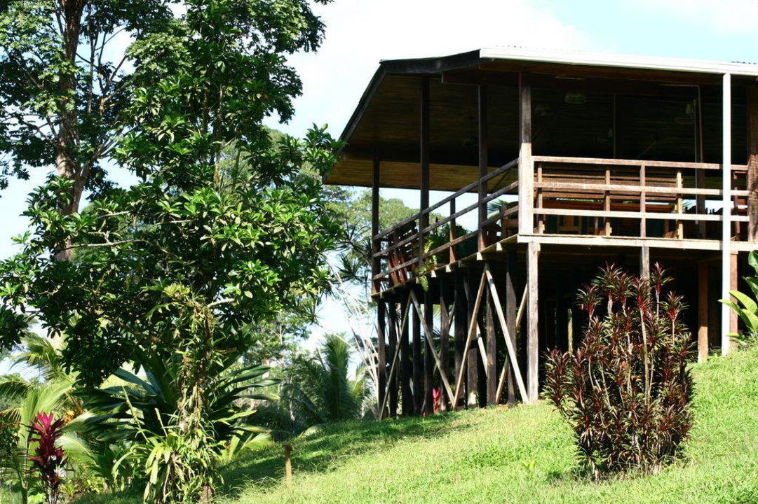 Das Restaurant der Lodge Hotel Laguna del Lagarto Lodge