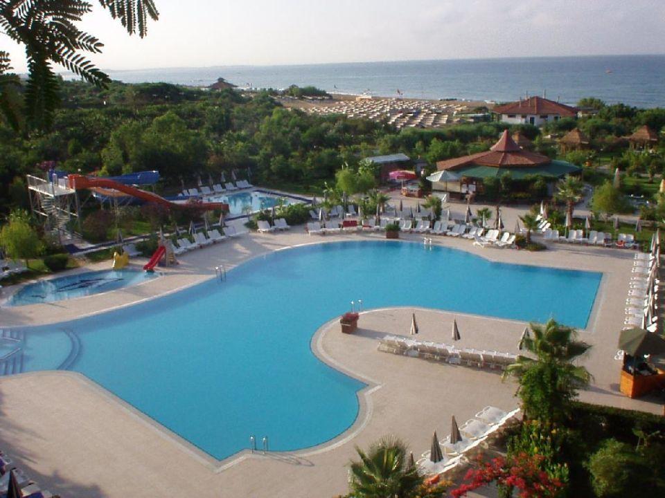Balkonblick Bella Resort & Spa
