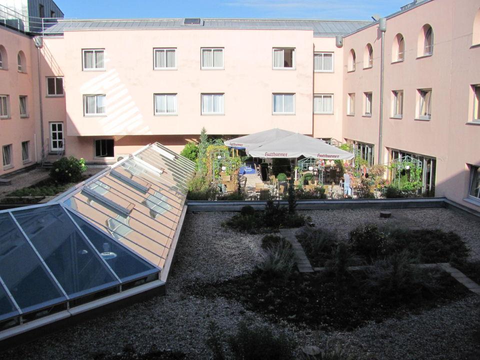 Ausblick aus dem EBC Zimmer IBB Hotel Passau City Centre