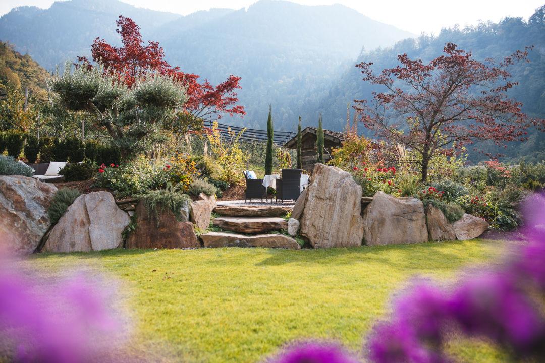 Gartenanlage Hotel Kiendl