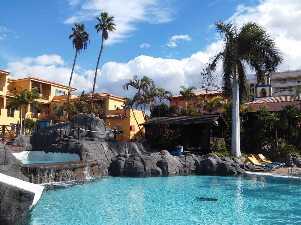 Pool mit rutsche park club europe playa de las americas holidaycheck teneriffa spanien - Pool mit rutsche ...