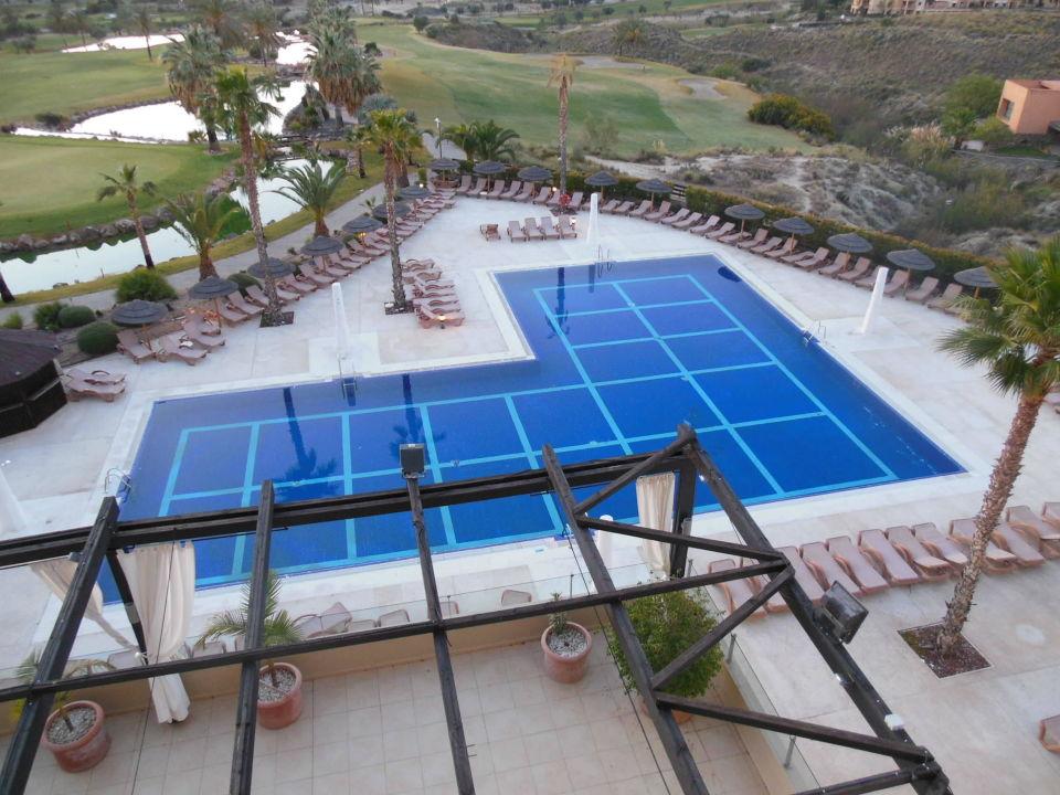 Poolanlage Hotel Valle del Este Golf Spa