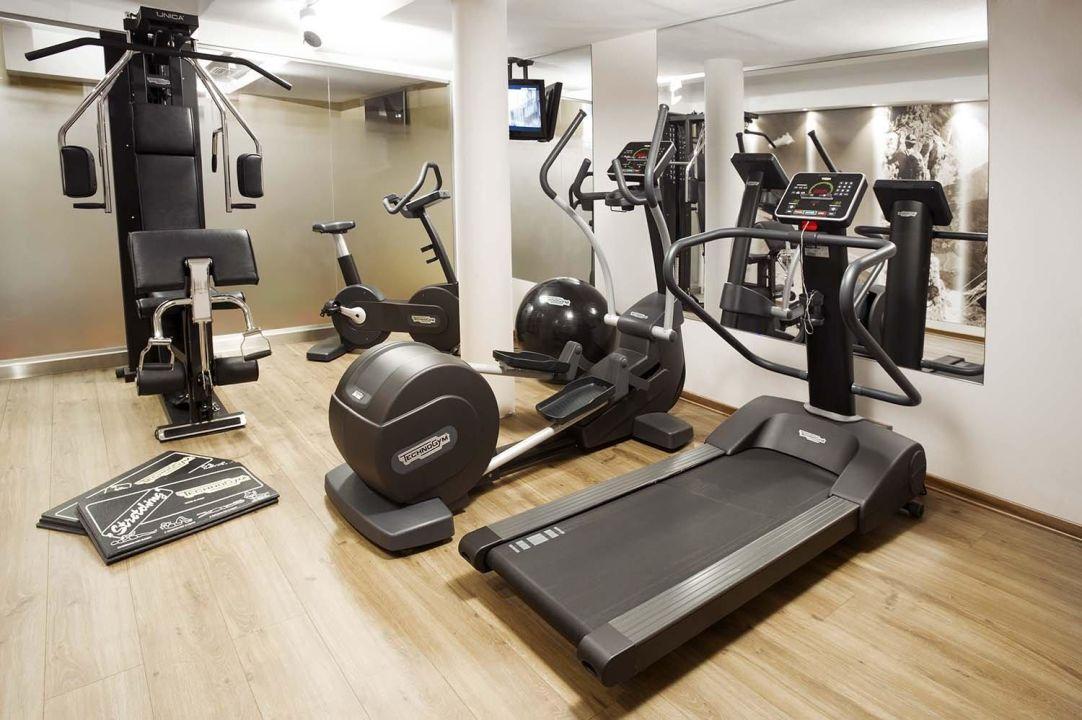 Technogym! Sporthotel Romantic Plaza