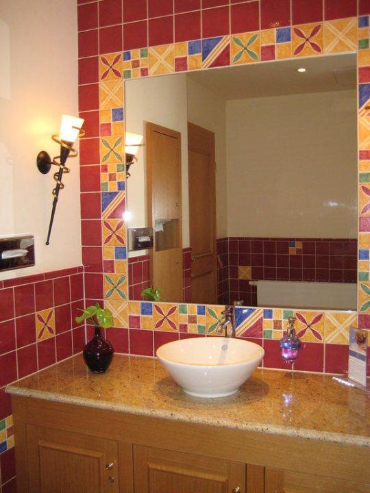 Waschraum Hinter Der Hotelbar Hotel Travel Charme Gothisches Haus