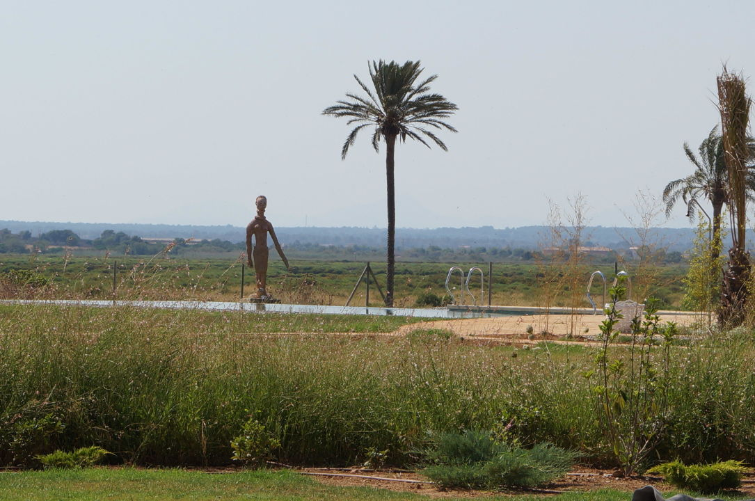 Blick auf den hinteren Pool und Naturschutzgebiet Fontsanta Hotel Thermal Spa & Wellness - Adults only