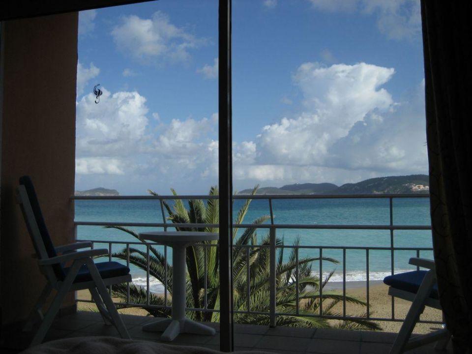 Ausblick aus Hotelzimmer Grupotel Cala San Vicente