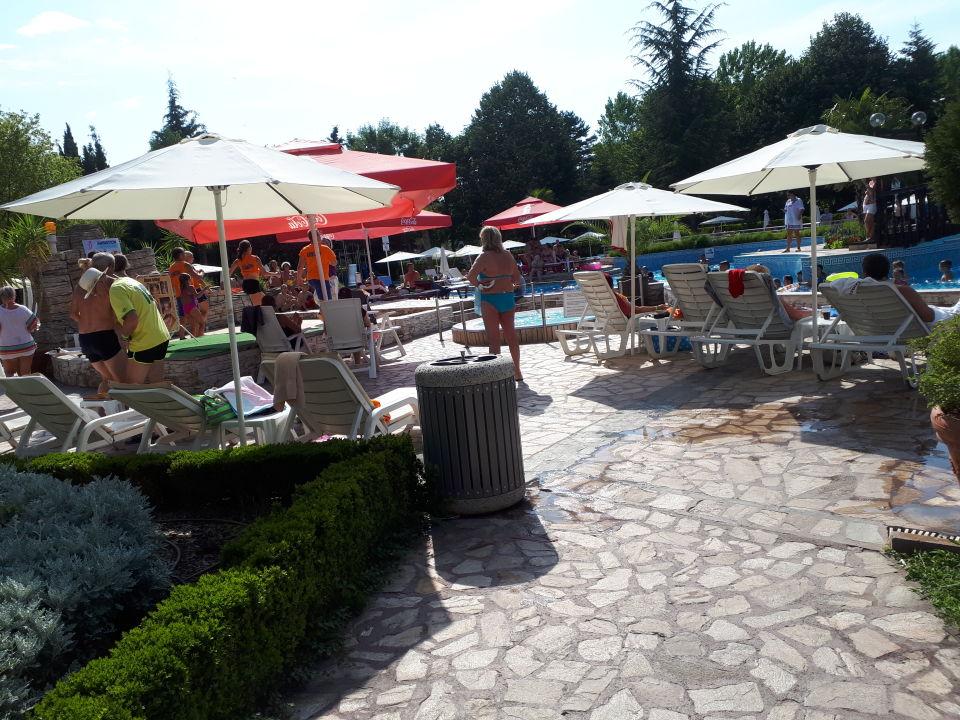 Gartenanlage Hotel Hrizantema