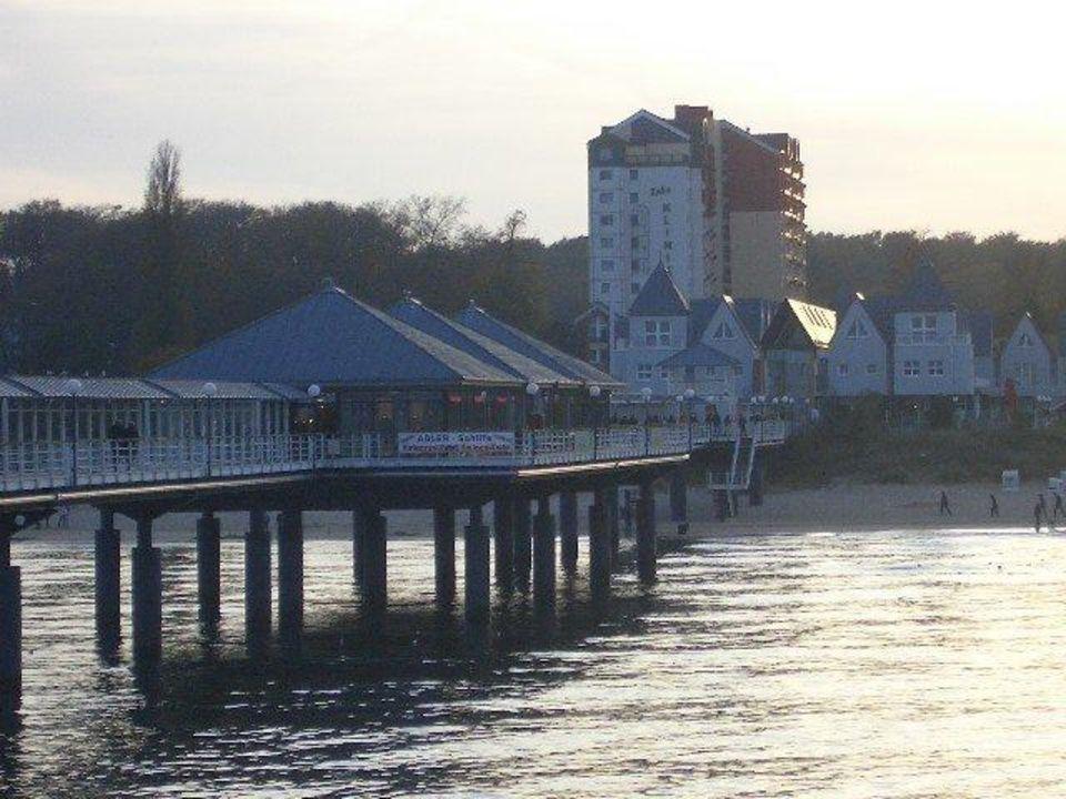 Blick auf die Ferienwohnung Ferienwohnungen Kaiservillen - Ferienwohnungen Seebrücke