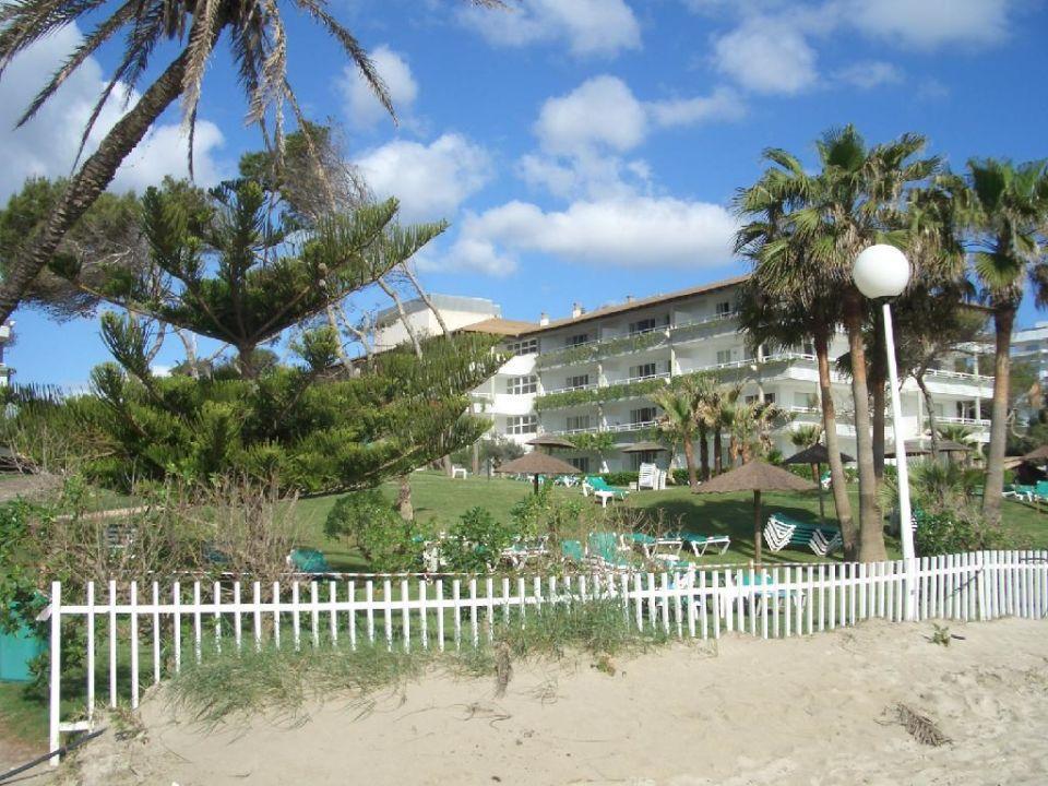 Vom Strand aus Aparthotel Esperanza Park
